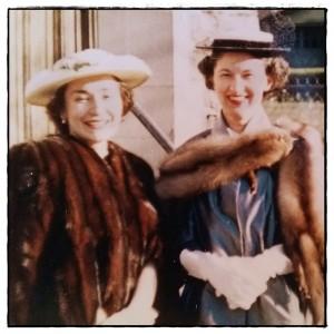 Rose & Eileen - close-up FRAMED LR